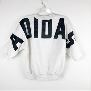 Adidas Original Short Sleeve Crew Neck Sweatshirt